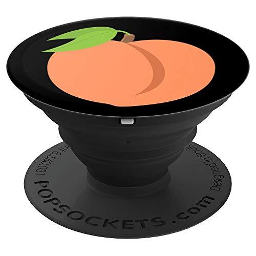 Emoji Peach Bum Bikini - PopSockets Grip and