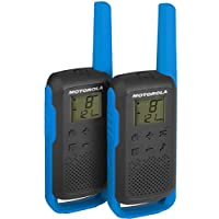 Motorola Talkie Walkie Twin Pack T62 Bleu