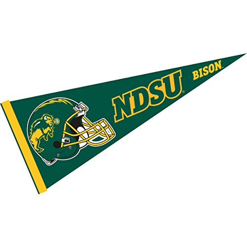 - College Flags and Banners Co. NDSU Bison Football Helmet Pennant