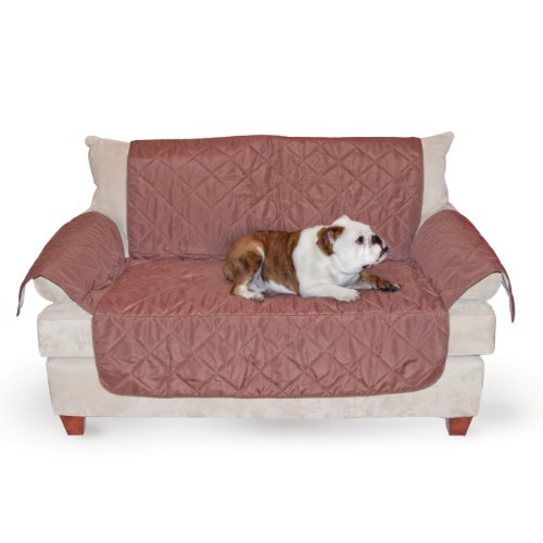 K&H Pet Products K&H Manufacturing Economy Furniture Cover Loveseat, Chocolate