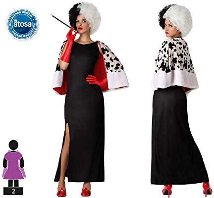 Atosa-15712 Disfraz Mujer Cruel, color negro, XS-S (15712): Amazon ...