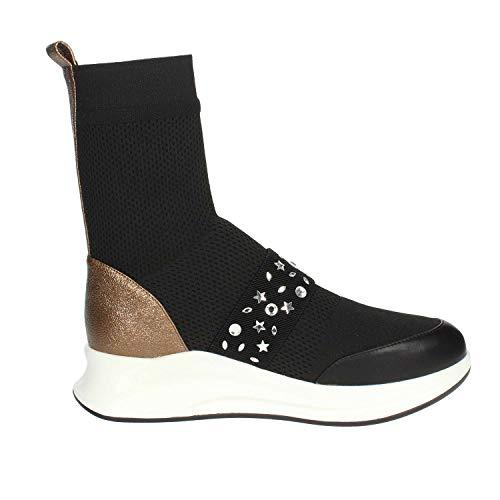 Pregunta Pcg04001 Nero Alta Sneakers Donna BSwnqZBr