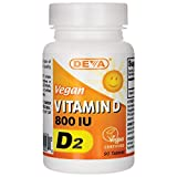 Deva Vegan Vitamin D — 800 IU – 90 Tablets Review