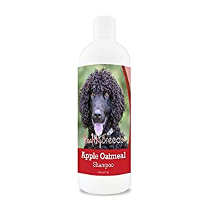 Healthy Breeds Apple Oatmeal Shampoo Spray that moisturizes and the anti inflammatory properties hydrate cool and soothe damage coat and skin.  Relief from dry skin flea bites 8oz 5
