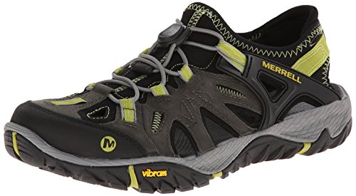 Merrell Men's All Out Blaze Sieve Water Shoe, Castle Rock/Green Oasis, 11 M US (Best Hikes In Provo)