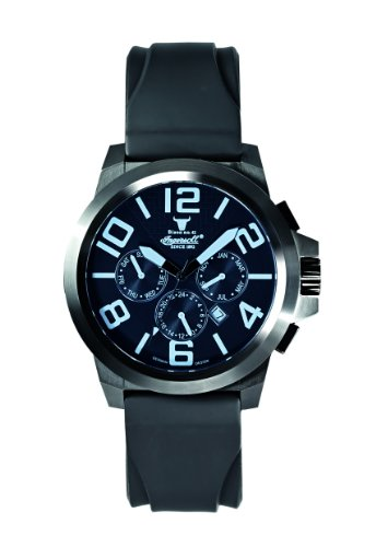 Ingersoll Men's IN4107BBBL Bison No. 42 Fine Automatic Timepiece Blue Crystal Watch