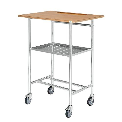 Rollpult Tischwagen mit Zwischenboden 800 x 570 x 1.055 mm Traglast 150 kg