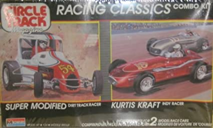 Amazon com: Monogram 6146 Racing Classics Combo Kit: Super Modified