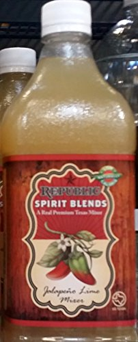 Republic Spirit Blends Jalapeno Lime Mixer 33.8 fl oz (Pack of 2)