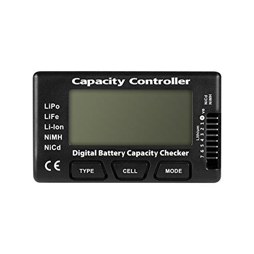 WOOCON RC CellMeter-7 Digital Battery Capacity Checker LiPo