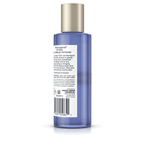 Neutrogena Oil-Free Gentle Eye Makeup Remover, 5.5 Fl. Oz. (Pack of 3) by Neutrogena (Image #3)
