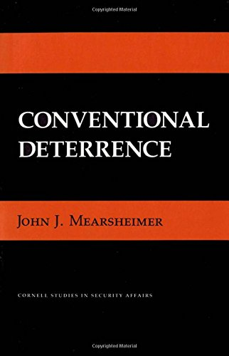 Conventional Deterrence (Cornell Studies in Security Affairs)