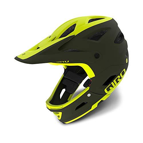 Giro Switchblade MIPS Bike Helmet - Matte Olive/Citron Medium (Helmet Matte Olive)