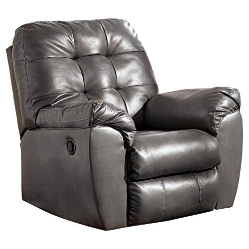 Ashley Furniture Signature Design - Alliston Contemporary Rocker Recliner - Pull-Tab Reclining - ()