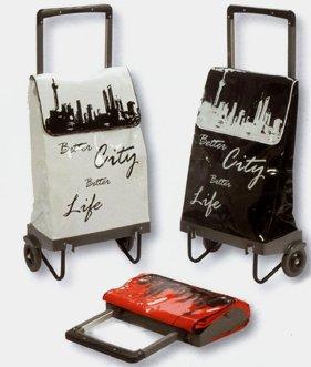 Einkaufsroller Einkaufstrolley 3 Farben Klein Zusammenklappbar