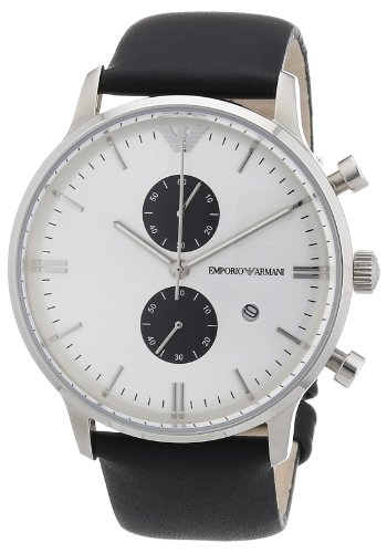 Emporio Armani Gents Classic Stainless Steel Watch