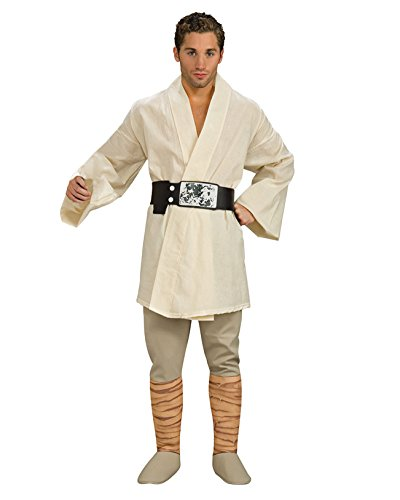 Deluxe Luke Skywalker Theatre Costumes Star Wars Jedi Knight Movie Sci Fi Mens Sizes: One Size