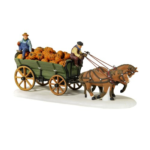 (Dept 56 New England Village **Harvest Pumpkin Wagon** 56591)