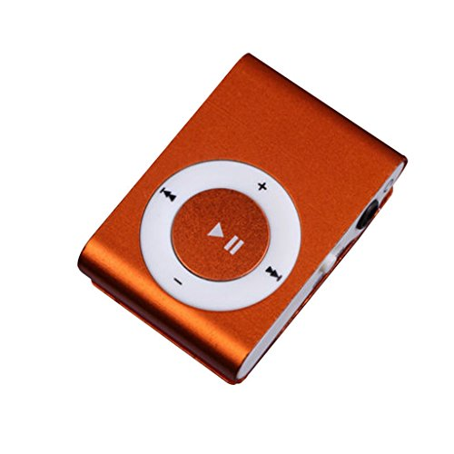MP3 Player, Coolbiz 1-8GB Support Micro SD TF Mini Clip Meta