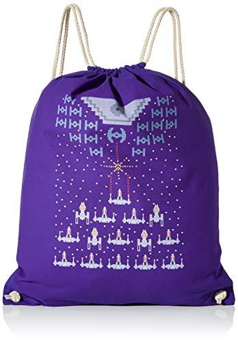 Texlab Unisex_Adult VEND-171150 Drawstring Bags, Navy, 38 cm x 42 cm