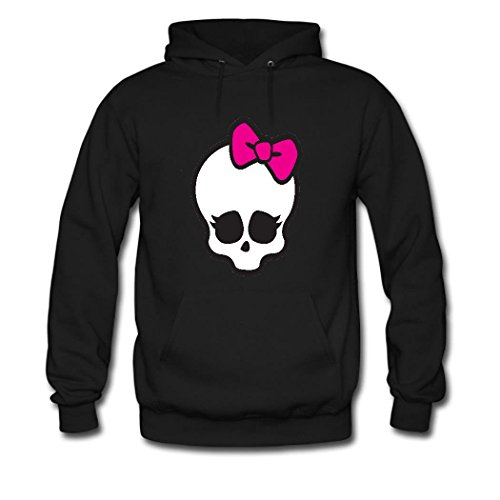 Monster High Customs (Fanging Design Monster High Big Girls Hoodie, Custom Classic Sweatshirt Large Black)