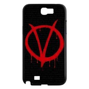 C-EUR Diy Phone Case V for Vendetta Pattern Hard Samsung Galxy S4 I9500/I9502