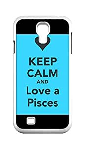 Cool Painting Pisces Snap-on Hard Back Case Cover Shell for Samsung GALAXY S4 I9500 I9502 I9508 I959 -203