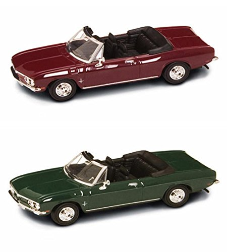 1969 Chevrolet Corvair Monza Convertible Diecast Car Package - Two 1/43 Scale Diecast Model Cars