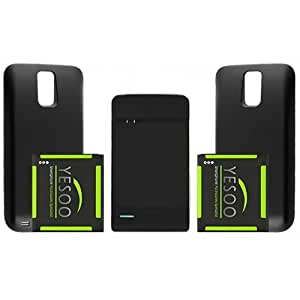YESOO™ T-Mobile Samsung Galaxy S2 II T989 2X 3800mAh Extended Battery and Back Cover + Charger