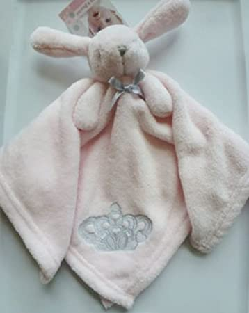 Amazon Com Blankets And Beyond Nunu Pink Rabbit Bunny With