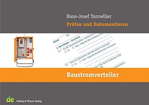 Prüfen und Dokumentieren -Baustromverteiler: de-Jahrbuch