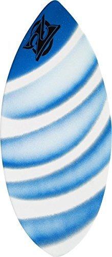 Zap Wedge Large Skimboard - 49x19.75 Assorted Blue ()