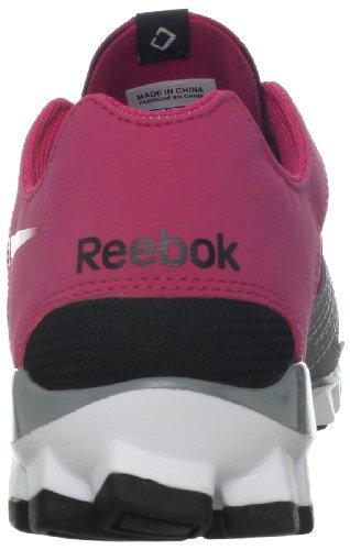 Reebok Femmes Realflex Fusion Tr 2.0 Cross-training Chaussure Cosmique Berry / Noir / Étain Gris / Blanc