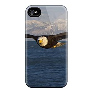 Iphone Case - Tpu Case Protective For Iphone 4/4s- Great North American Bald Eagle