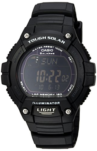 Casio W S220 1BVCF Tough Solar Running