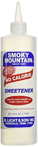 Smoky Mountain No Calorie Sweetener 16 Oz. Pack of 2