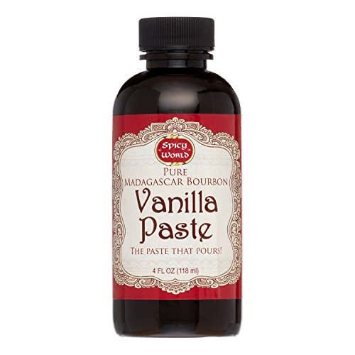 Price comparison product image Spicy World Madagascar Bourbon Pure Vanilla PASTE 4 Ounce - The Paste That Pours!