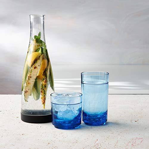 Drinique ELT-TA-BLU-24 Elite Tall Unbreakable Tritan Highball Glasses, 14 oz (Case of 24), Blue by Drinique (Image #3)
