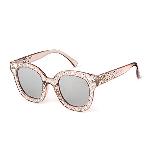 Cat Eye Sunglasses For Women Fashion Designer Acetate Shades With Star