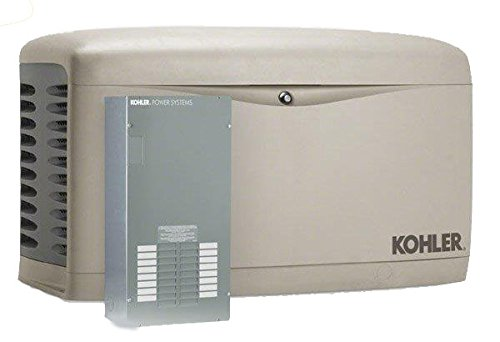 Kohler 14kW Air Cooled Standby Generator and 100 Amp 16 Space Load Center Automatic Transfer Switch