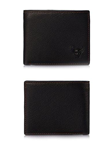 BATOX Vintage Fashion Mens Genuine Leather Convenient Key Case Wallet Retro Style Pocket Key Purse