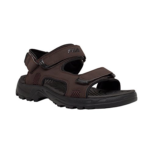 Fila Hombres Transition Athletic Sandal Espresso, Negro
