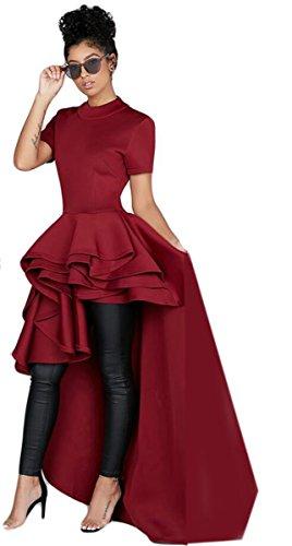 High Low Hem Dress - 3
