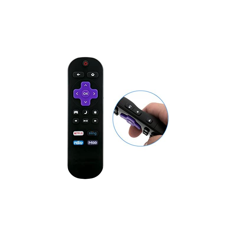 New TV Remote fit for INSIGNIA Roku TV NS-RCRUS-17 NS