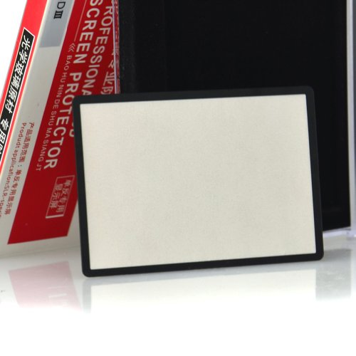 DSTE DSTT0306 LCD Cover Screen Protector Optical Glass for Canon 5D3 5D Mrak iii SLR Camera