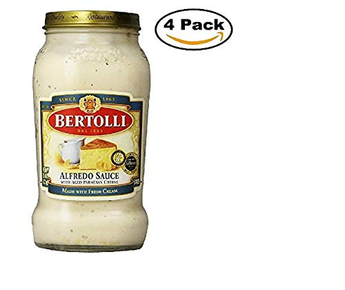 Bertolli Alfredo Sauce - Bertolli Alfredo Sauce with Aged Parmesan Cheese, 15 oz 4 Pack