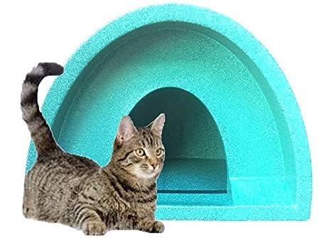 Cosy Jaulas Ltd Refugio de gatos para exteriores/Caseta Verde WOW £ 37.99 Multi: Amazon.es: Productos para mascotas