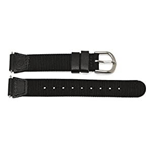 14MM TIMEX Womens Super Thin Nylon Expedition Field Watch Band FITS Medium to Small Wrist