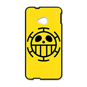 One Piece Trafalgar Law Flag Cell Phone Case for HTC One M7