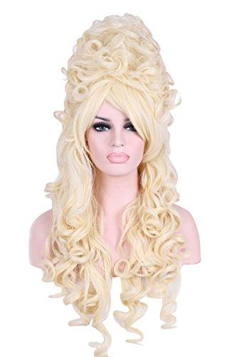 Nuoqi Women California Marie Antoinette Beige Wig Cosplay Costume Wig